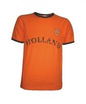T shirt oranje met holland opdruk 10057370