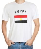 T shirts met egyptische vlag print