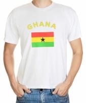 T shirts met ghanese vlag