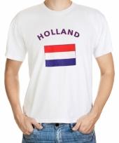 T shirts met hollandse vlag print