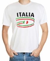T shirts met italia opdruk volwassenen