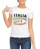 T shirts met italie opdruk voor dames