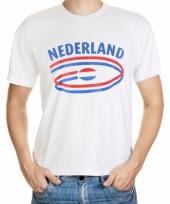 T shirts met nederland opdruk volwassenen