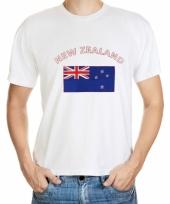 T shirts met nieuw zeeland vlag