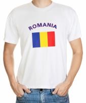 T shirts met roemeense vlag