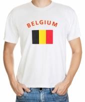 T shirts van vlag belgie