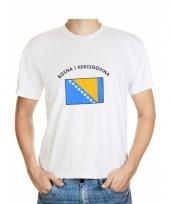T shirts van vlag bosnia en herzegovina