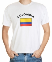 T shirts van vlag colombia
