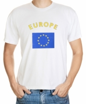 T shirts van vlag europa