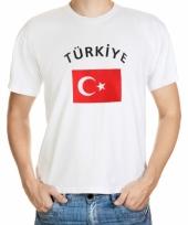 T shirts van vlag turkije