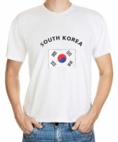 T shirts van vlag zuid korea