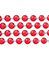 Tafeldecoratie rood kristal slinger