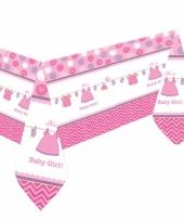 Tafelkleed geboorte meisje