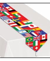 Tafelloper met internationaal thema