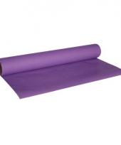 Tafelversiering luxe tafelloper paars