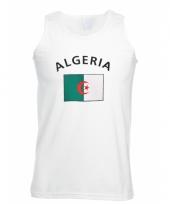 Tanktop met algeria vlag print