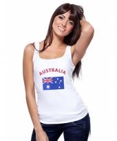 Tanktop met australische vlag print voor dames