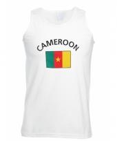 Tanktop met cameroon vlag print
