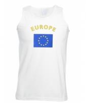 Tanktop met europa vlag print