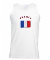 Tanktop met franse vlag print