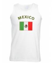 Tanktop met mexicaanse vlag print