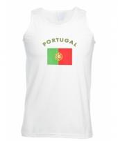 Tanktop met portugese vlag print