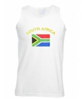 Tanktop met zuid afrika vlag print