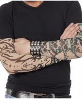 Tattoo mouwen doodskop
