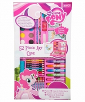 Tekendoos 52 delig my little pony