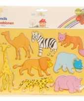 Tekensjablonen dieren