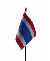 Thaise landenvlag op stokje