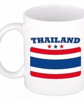 Thaise vlag koffiebeker 300 ml