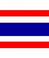 Thaise vlag mini 60 x 90 cm