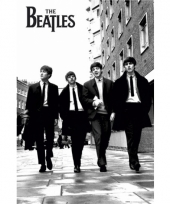 The beatles zwart wit megaposter 91 5 cm