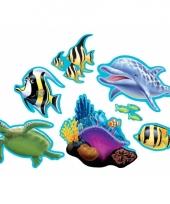 Themafeest oceaan decoraties 7 stuks