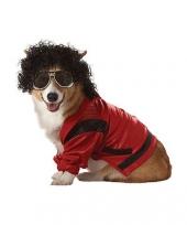 Thriller kostuum voor honden