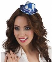 Tiara met beieren hoedje
