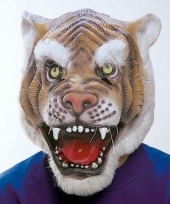Tijger maskers 100 latex