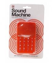 Toneel geluidsmachine grappige geluiden