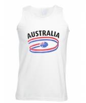 Top met australia opdruk voor heren