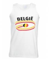 Top met belgie opdruk voor heren