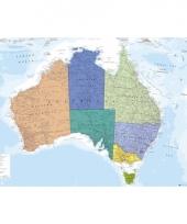 Topografieposter australie 91 5 cm