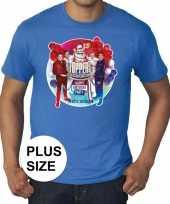 Toppers grote maten blauw toppers in concert 2019 officieel shirt heren