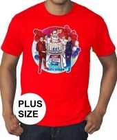 Toppers grote maten roodtoppers in concert 2019 officieel shirt heren