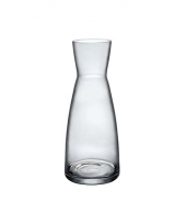 Transparante waterfles