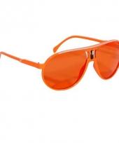Trendy oranje brillen