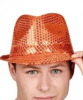 Tribly oranje hoeden