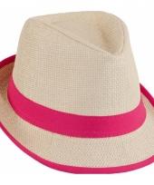 Trilby hoedjes roze