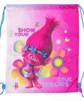 Trolls gymtassen voor meisjes