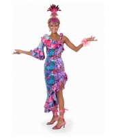 Tropisch salsa jurk